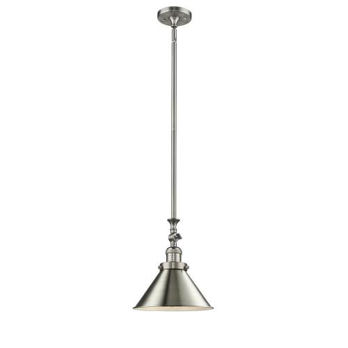 Innovations Lighting 206-M10-LED Briarcliff-3.5W 1 LED Mini Pendant in Traditional Style-10 Inches Wide by 14 Inches High