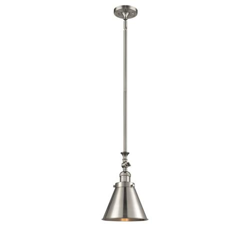Innovations Lighting 206-M13 Appalachian-1 Light Mini Pendant in Traditional Style-8 Inches Wide by 13 Inches High