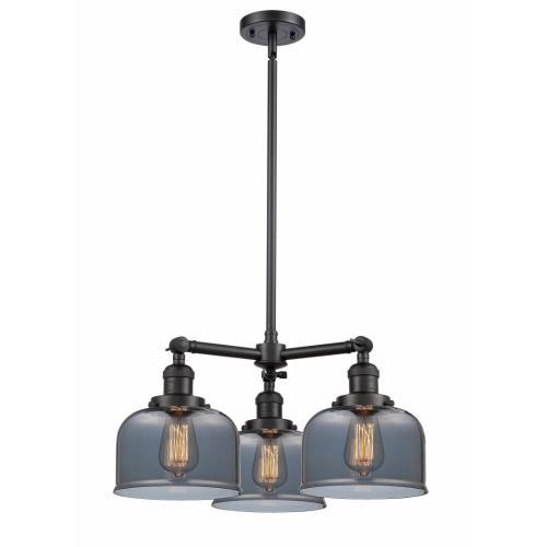 Innovations Lighting 207-G7 Large Bell - 3 Light Chandelier