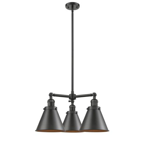 Innovations Lighting 207-M13-LED Appalachian-10.5W 3 LED Chandelier in Traditional Style-21 Inches Wide by 14 Inches High