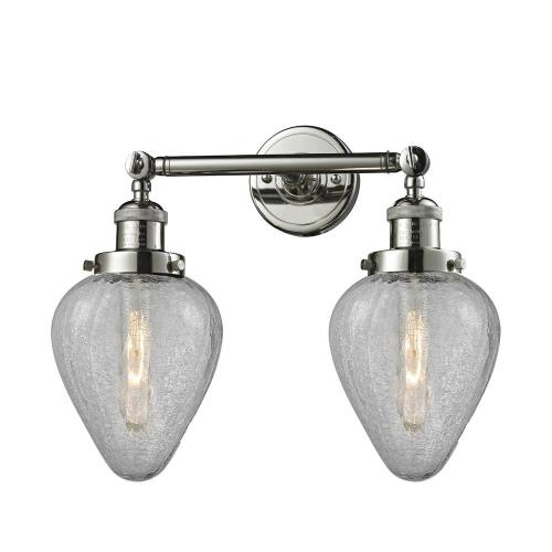 Innovations Lighting 208-Ge Geneseo - Two Light Adjustable Wall Sconce