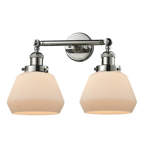 Innovations Lighting 208-Fu Fulton-Two Light Adjustable Wall Sconce-16.5 Inches Wide by 10 Inches High