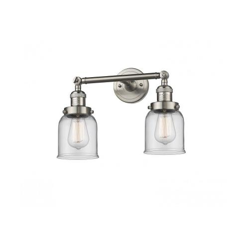Innovations Lighting 208-G5 Two Light Small Bell Wall Sconce
