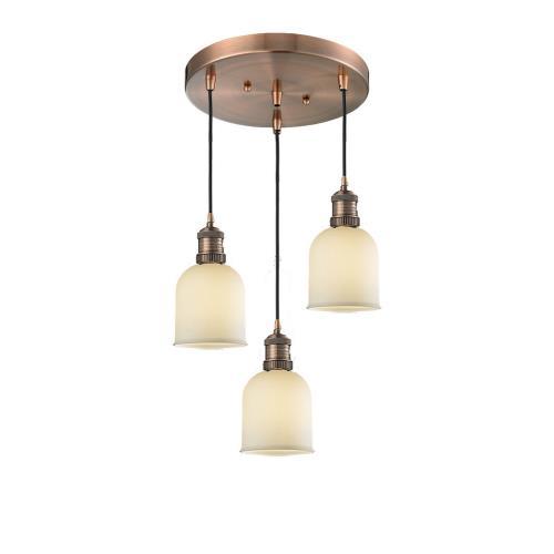 Innovations Lighting 211/3-G5 Small Bell - 3 Light Multi-Pendant