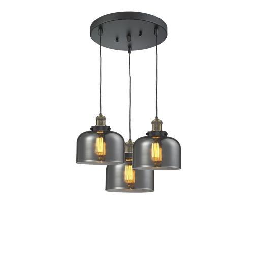 Innovations Lighting 211/3-G7 Large Bell - 3 Light Multi-Pendant