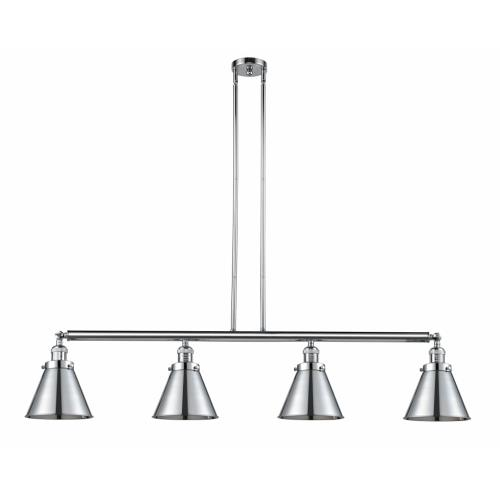 Innovations Lighting 214-M13 Appalachian-4 Light Island in Traditional Style-52 Inches Wide by 12 Inches High