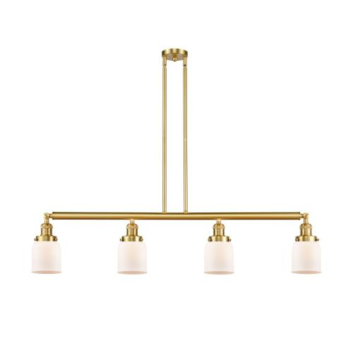 Innovations Lighting 214-G5 Small Bell-4 Light Island-48 Inches Wide by 5 Inches High