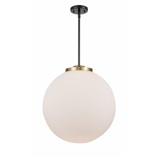 Innovations Lighting 201S-18-LED Beacon-3.5W 1 LED Pendant in Industrial Style-18 Inches Wide by 19 Inches High