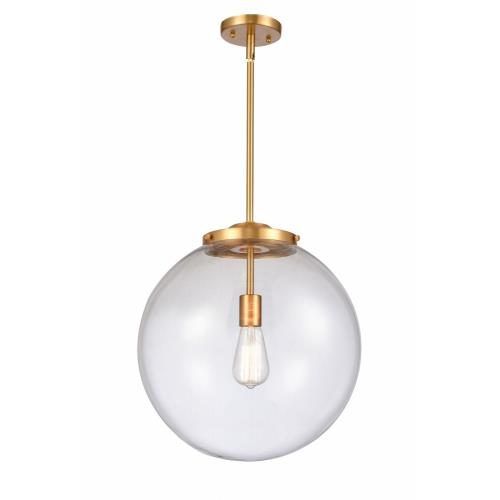 Innovations Lighting 201S-16 Beacon-1 Light Pendant in Industrial Style-16 Inches Wide by 17 Inches High