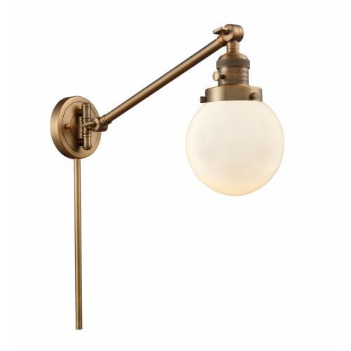 Innovations Lighting 237-G20-6 Beacon - 25 Inch 1 Light Swing Arm Wall Mount