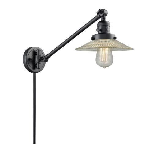 Innovations Lighting 237-G1 Halophane - 25 Inch 1 Light Swing Arm Wall Mount