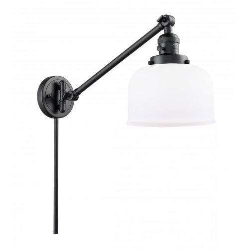 Innovations Lighting 237-G7L X-Large Bell - 1 Light Swing Arm Wall Mount