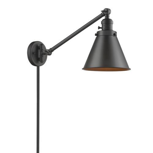 Innovations Lighting 237-M13 Appalachian - 12 Inch 1 Light Swing Arm Wall Mount