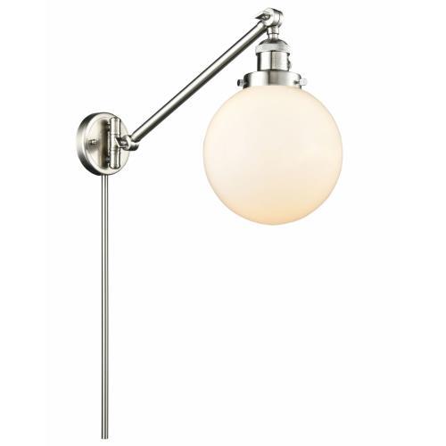 Innovations Lighting 237-G20-8 Large Beacon - 25 Inch 1 Light Swing Arm Wall Mount