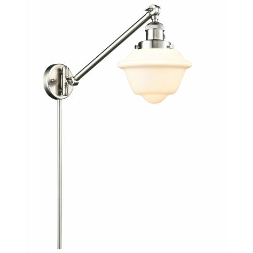 Innovations Lighting 237-G53 Small Oxford - 25 Inch 1 Light Swing Arm Wall Mount