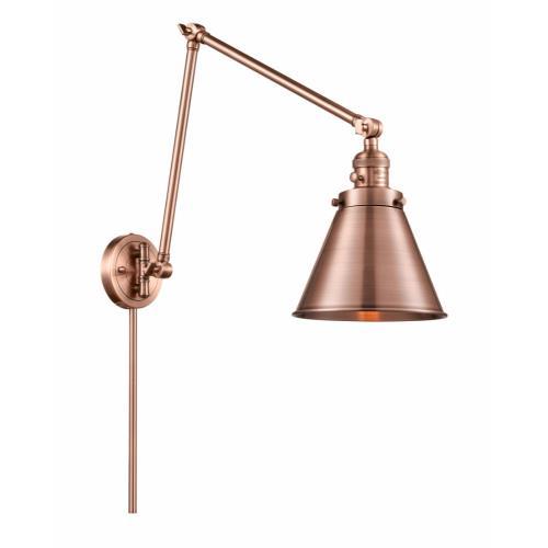 Innovations Lighting 238-M13 Appalachian - 30 Inch 1 Light Swing Arm Wall Mount