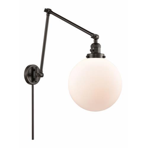 Innovations Lighting 238-G20-10 Extra Large Beacon - 1 Light Swing Arm Wall Mount