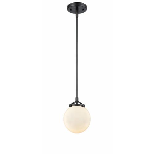 Innovations Lighting 284-1S-G20-6 Beacon-1 Light Mini Pendant in Industrial Style-6 Inches Wide by 7.38 Inches High