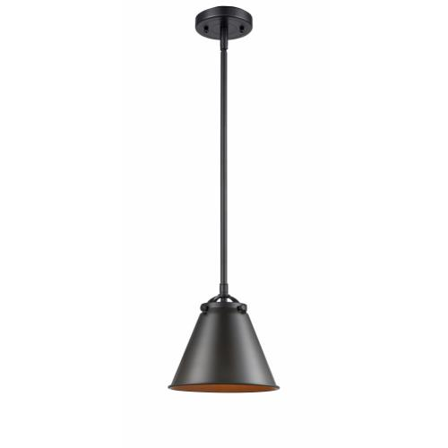 Innovations Lighting 284-1S-M13 Appalachian-1 Light Mini Pendant in Industrial Style-8 Inches Wide by 7.75 Inches High