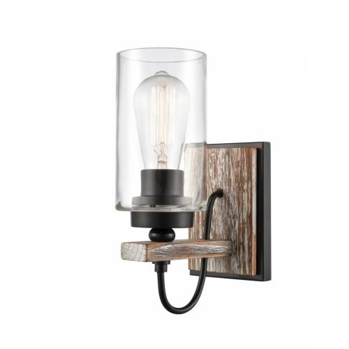 Innovations Lighting 442-1W Paladin-1 Light Wall Sconce in Farmhouse Style-4.5 Inches Wide by 11.25 Inches High