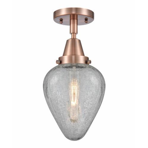 Innovations Lighting 447-1C-GEN Geneseo - 1 Light Flush Mount