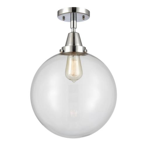 Innovations Lighting 447-1C-12-LED Beacon-3.5W 1 LED Flush Mount in Industrial Style