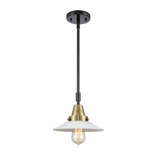 Innovations Lighting 447-1S-HAL Halophane-1 Light Mini Pendant in Industrial Style