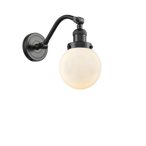 Innovations Lighting 515-1W-G20-6 Beacon-1 Light Wall Sconce in Industrial Style-6 Inches Wide by 11.5 Inches High