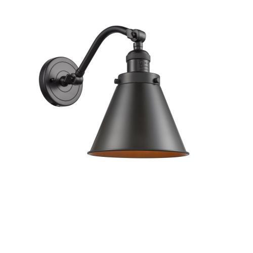 Innovations Lighting 515-1W-M13-LED Appalachian-3.5W 1 LED Wall Sconce in Traditional Style-8 Inches Wide by 11.5 Inches High