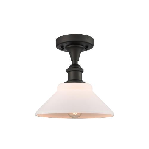 Innovations Lighting 516-1C-G13-LED Orwell - 8.38 Inch 3.5W 1 LED Semi-Flush Mount
