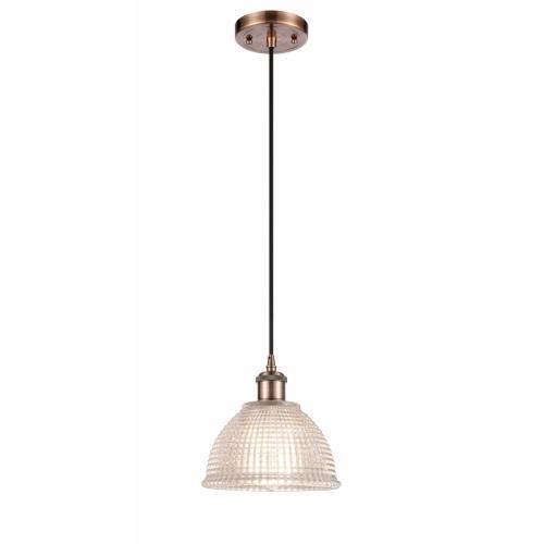 Innovations Lighting 516-1P-G42-LED Arietta - 8 Inch 3.5W 1 LED Mini Pendant