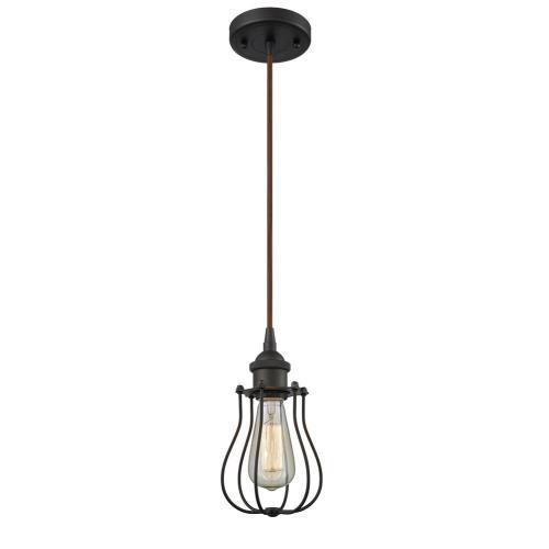 Innovations Lighting 516-1P-CE513-LED Barrington - 10 Inch 3.5W 1 LED Mini Pendant