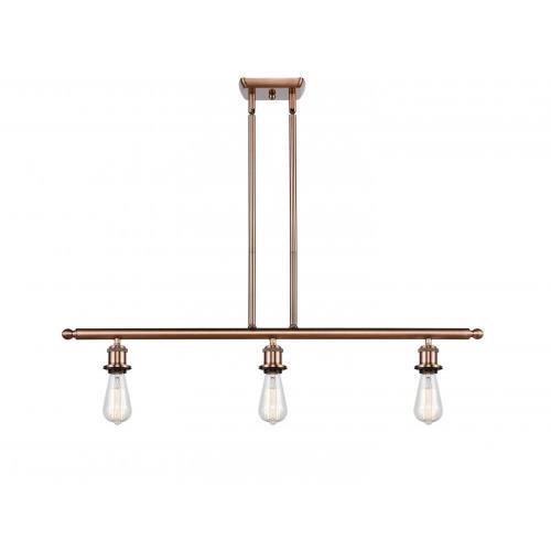 Innovations Lighting 516-3I-BARE-LED Bare Bulb - 36 Inch 10.5W 3 LED Island