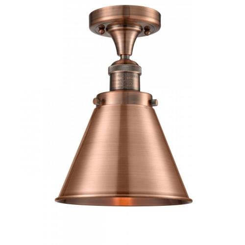 Innovations Lighting 517-1CH-M13-LED Appalachian - 10 Inch 3.5W 1 LED Semi-Flush Mount