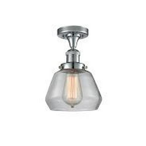 Innovations Lighting 517-1CH-G Fulton - One Light Semi-Flush Mount