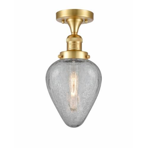 Innovations Lighting 517-1CH-G165 Geneseo - 13.5 Inch 1 Light Semi-Flush Mount