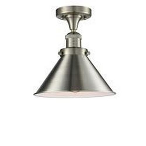 Innovations Lighting 517-1CH-M1 Briarcliff-One Light Semi-Flush Mount-10 Inches Wide by 6 Inches High