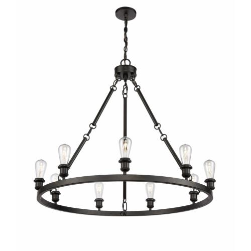 Innovations Lighting 840-LED Saloon - 40 Inch 31.5W 9 LED Chandelier