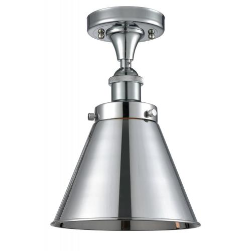 Innovations Lighting 916-1C-M13-LED Appalachian - 9.5 Inch 3.5W 1 LED Semi-Flush Mount