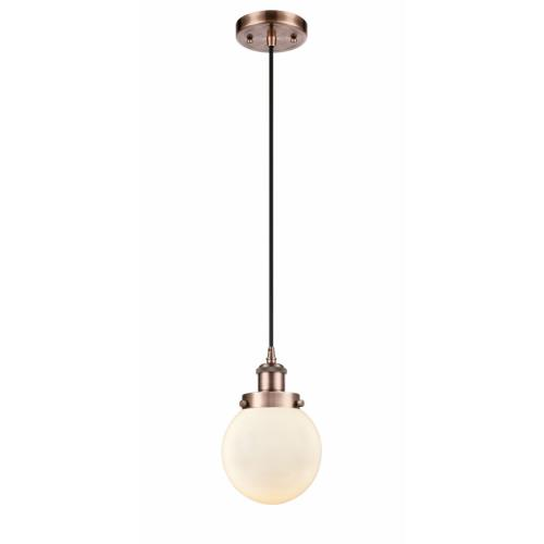 Innovations Lighting 916-1P-G20-6 Beacon - 9 Inch 1 Light Mini Pendant