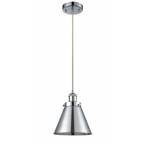 Innovations Lighting 916-1P-M13 Appalachian-1 Light Mini Pendant in Industrial Style-7 Inches Wide by 7.5 Inches High