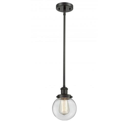 Innovations Lighting 916-1S-G20-6-LED Beacon-3.5W 1 LED Pendant in Modern Contempo Style-6 Inches Wide by 9 Inches High