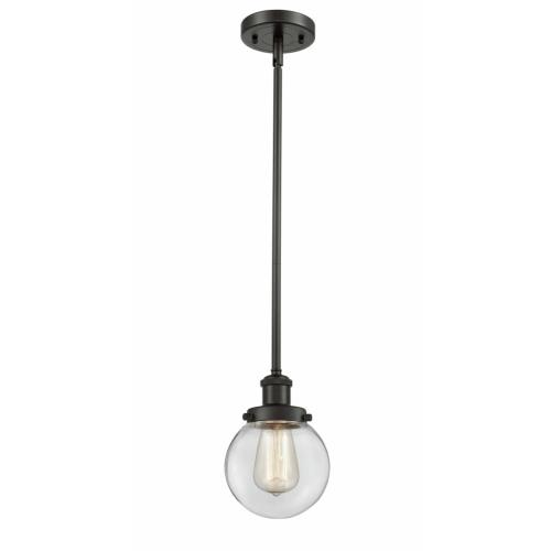 Innovations Lighting 916-1S-G20-6 Beacon-1 Light Pendant in Modern Contempo Style-6 Inches Wide by 9 Inches High