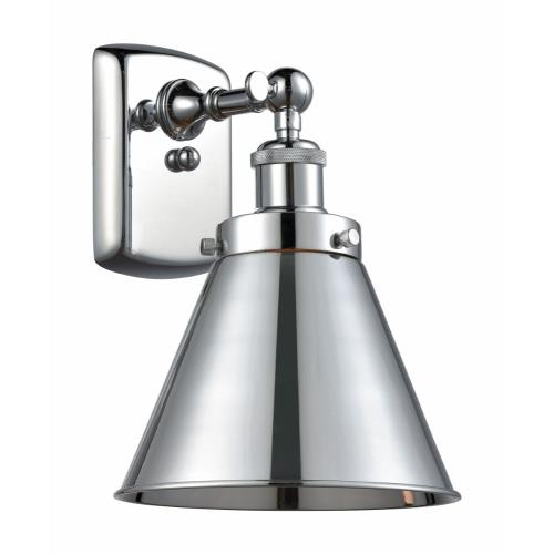 Innovations Lighting 916-1W-M13 Appalachian-1 Light Wall Sconce in Industrial Style-7 Inches Wide by 10.5 Inches High