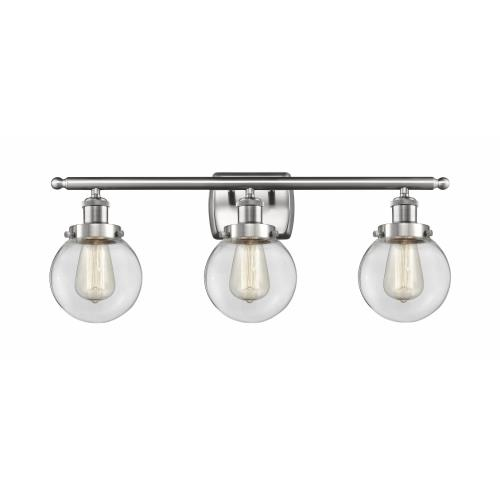 Innovations Lighting 916-3W-G20-6 Beacon-3 Light Bath Vanity in Modern Contempo Style-26 Inches Wide by 11 Inches High