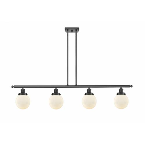 Innovations Lighting 916-4I-G20-6 Beacon-4 Light Island in Modern Contempo Style-48 Inches Wide by 10 Inches High