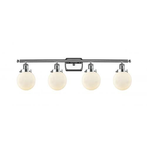 Innovations Lighting 916-4W-G20-6-LED Beacon-14W 4 LED Bath Vanity in Modern Contempo Style-36 Inches Wide by 11 Inches High