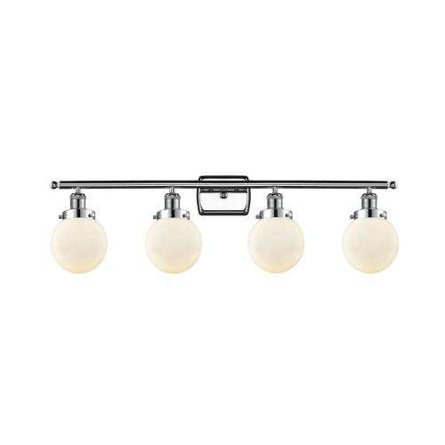 Innovations Lighting 916-4W-G20-6 Beacon-4 Light Bath Vanity in Modern Contempo Style-36 Inches Wide by 11 Inches High