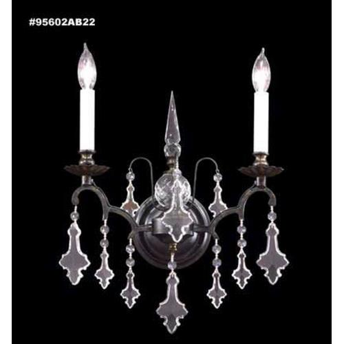 James Moder Lighting 95602 Versailles - Two Light Wall Sconce