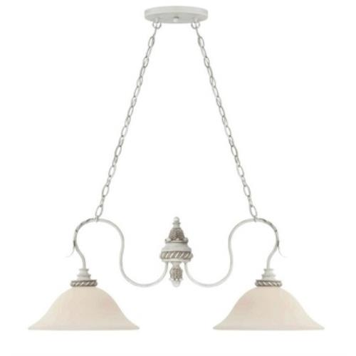 Craftmade Lighting 27332-ATL Zoe - Two Light Island - 36 inches wide by 13.5 inches high